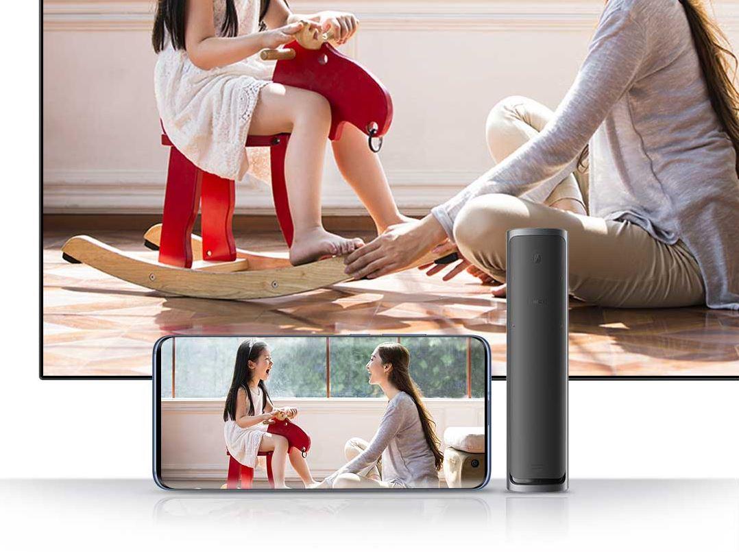 Televisión de 65 pulgadas de la Xiaomi Mi TV Master Series con control remoto por NFC