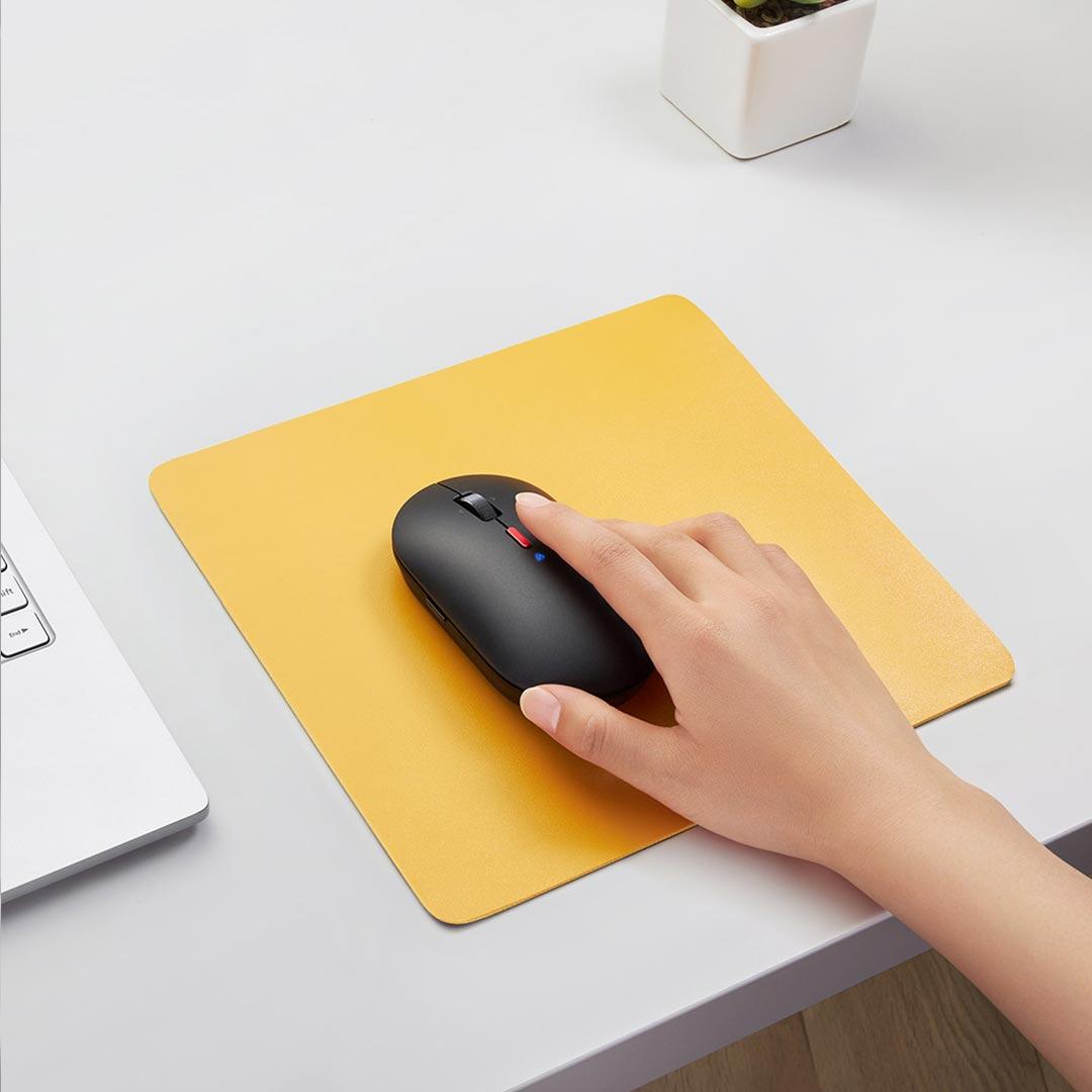 usando el ratón inalámbrico Xiaomi XiaoAI Smart Mouse