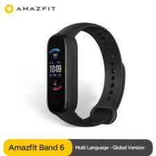 Pulsera de actividad Amazfit Band 6