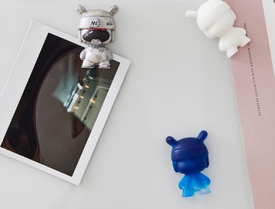 Figuras hechas con el moldes para hielo con forma de Xiaomi Mi Rabbit