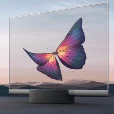 televisión transparente Xiaomi Mi TV Lux Trransparent Edition