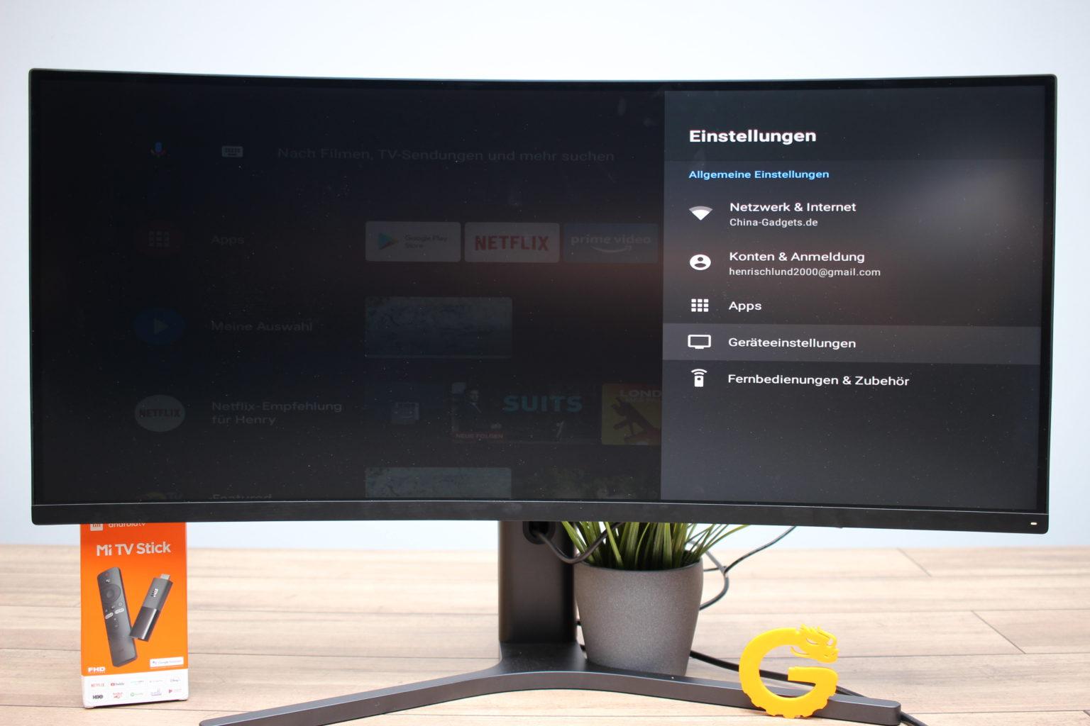 Ajustes de configuración del Xiaomi Mi TV Stick