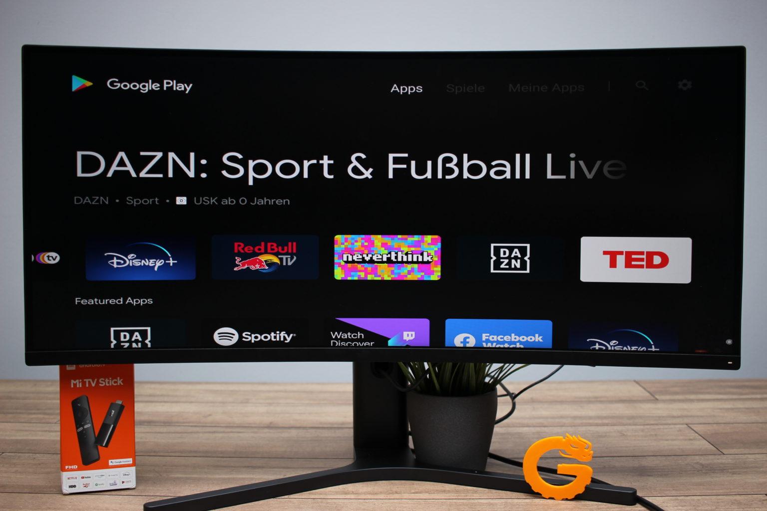 Aplicaciones del Xiaomi Mi TV Stick