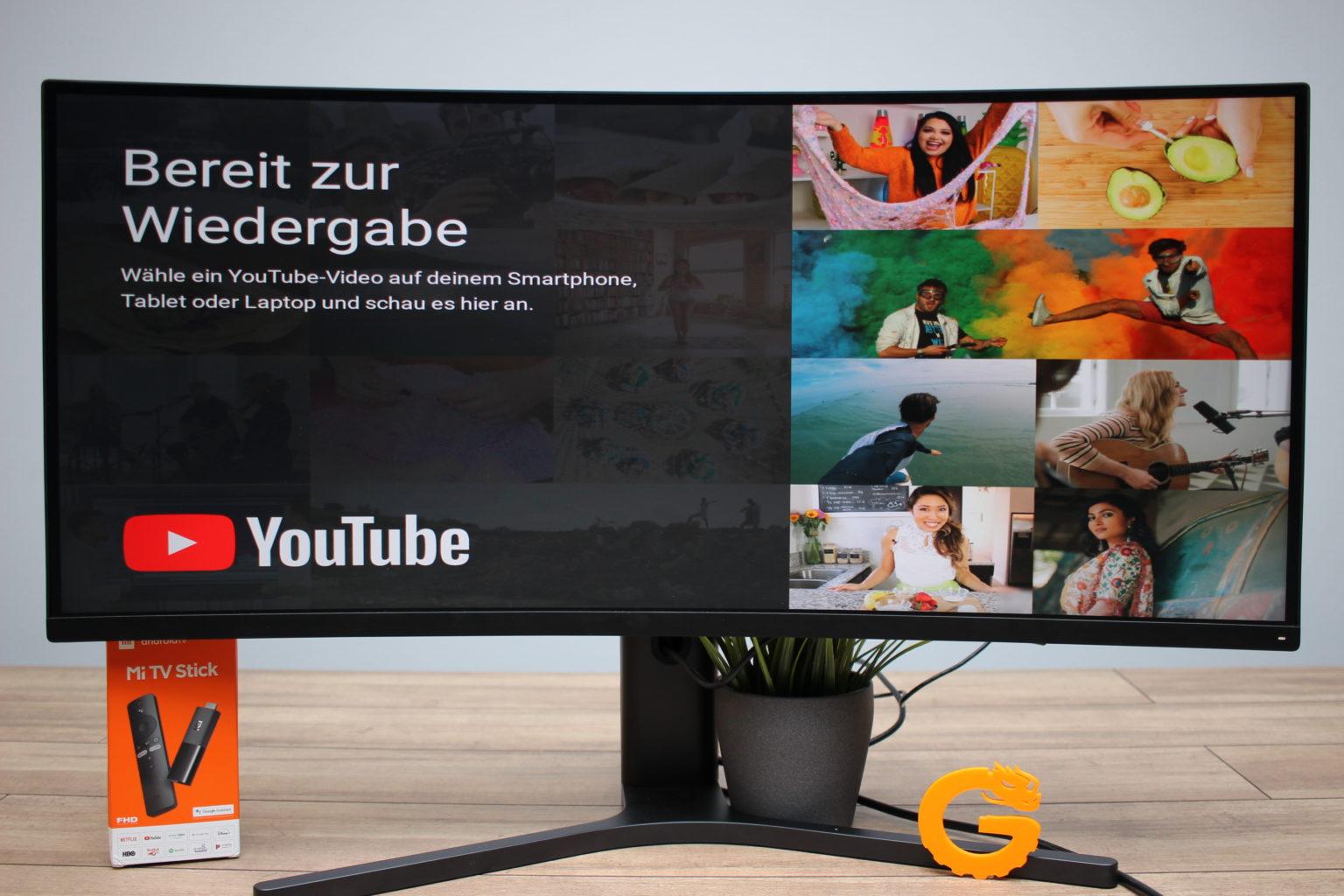 Youtube en Chromecast con el Xiaomi Mi TV Stick
