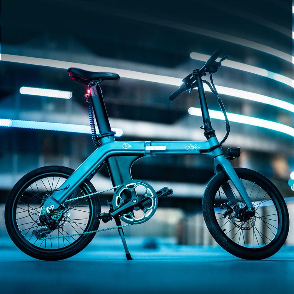 Diseño de la bicicleta eléctrica FIIDO D11