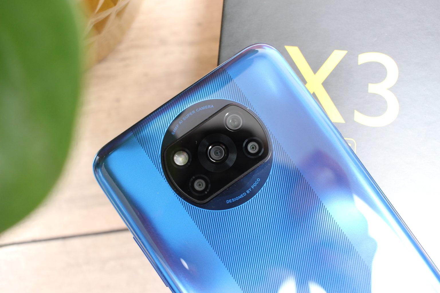 Módulo de la cámara principal del Poco X3 NFC