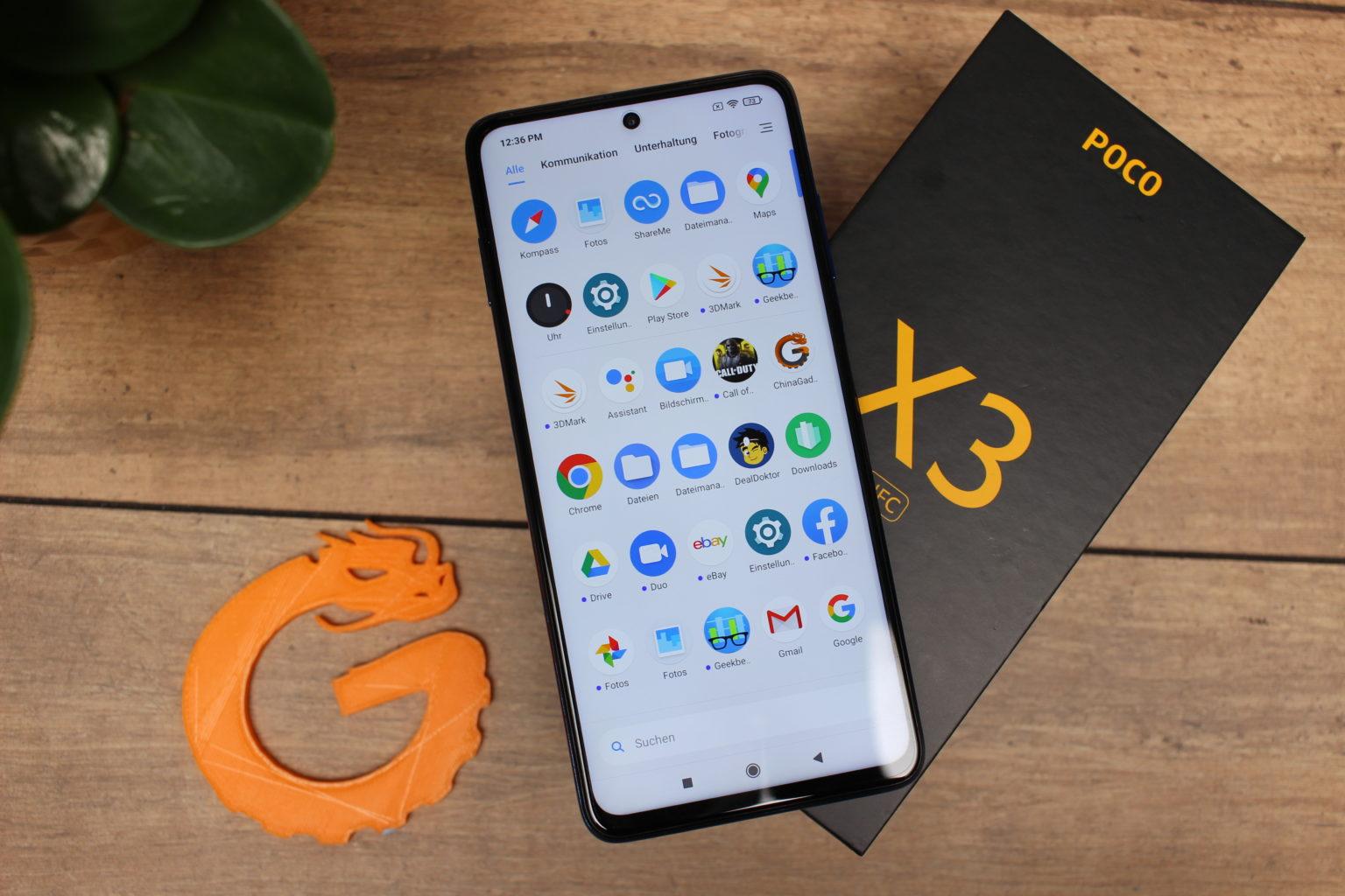 Poco X3 NFC con Poco Launcher