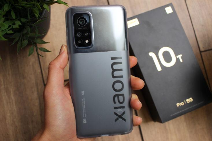 Parte posterior del Xiaomi Mi 10T Pro