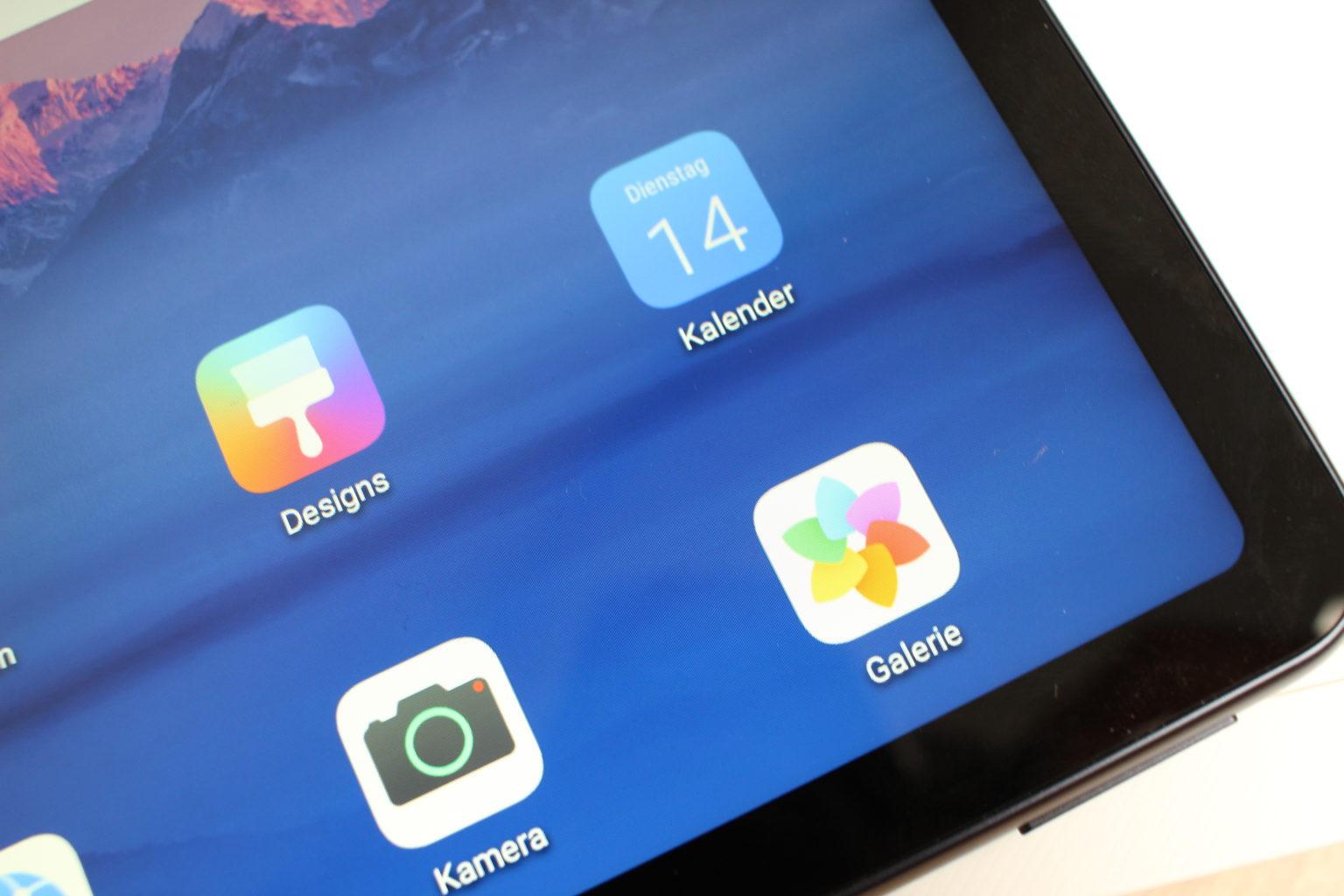 Nitidez de la pantalla de la Tablet Huawei Matepad