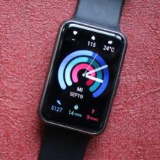Pantalla del reloj inteligente Huawei Watch Fit
