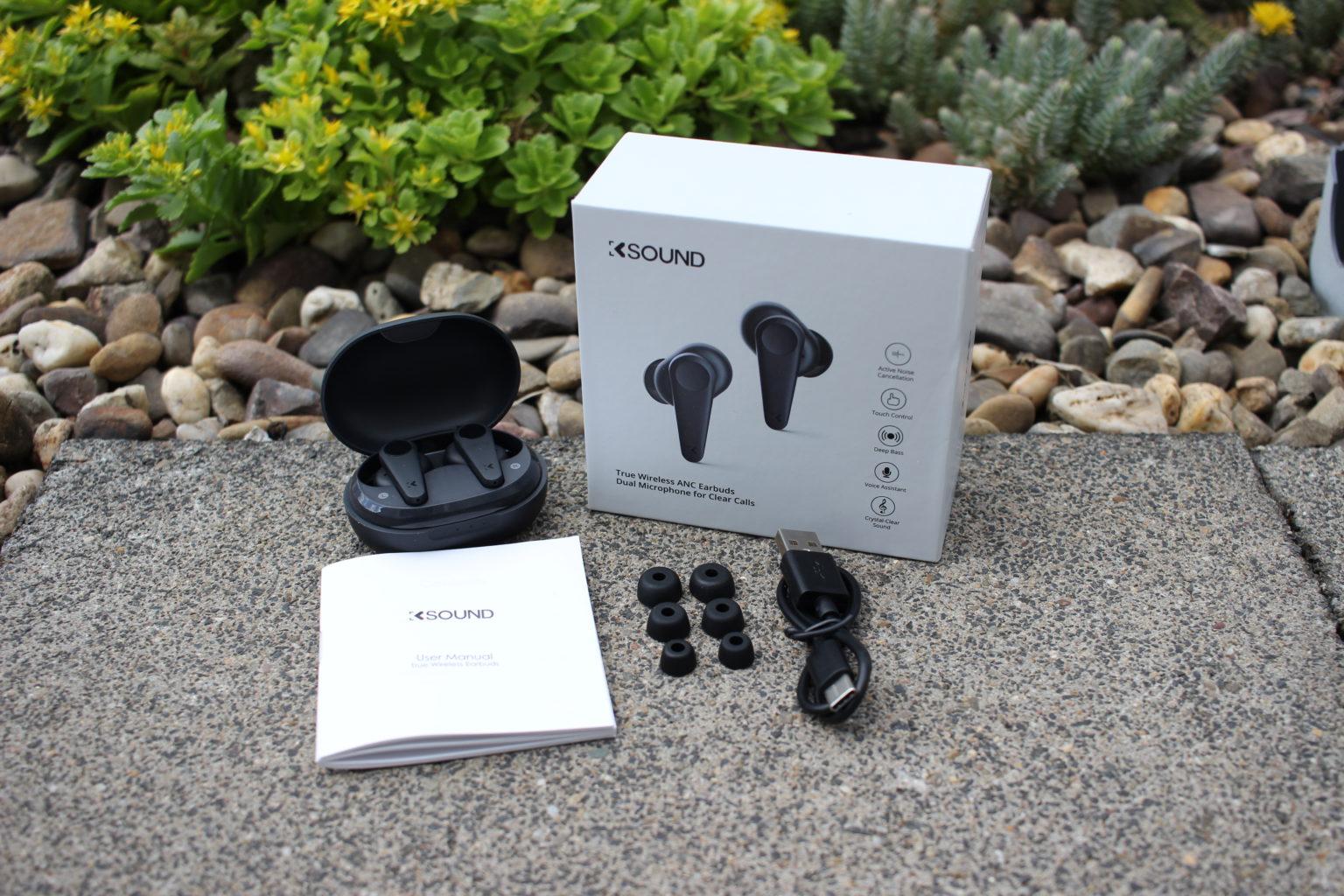 Accesorios de los auriculares bluetooth in-ear KSound EP-K06NC