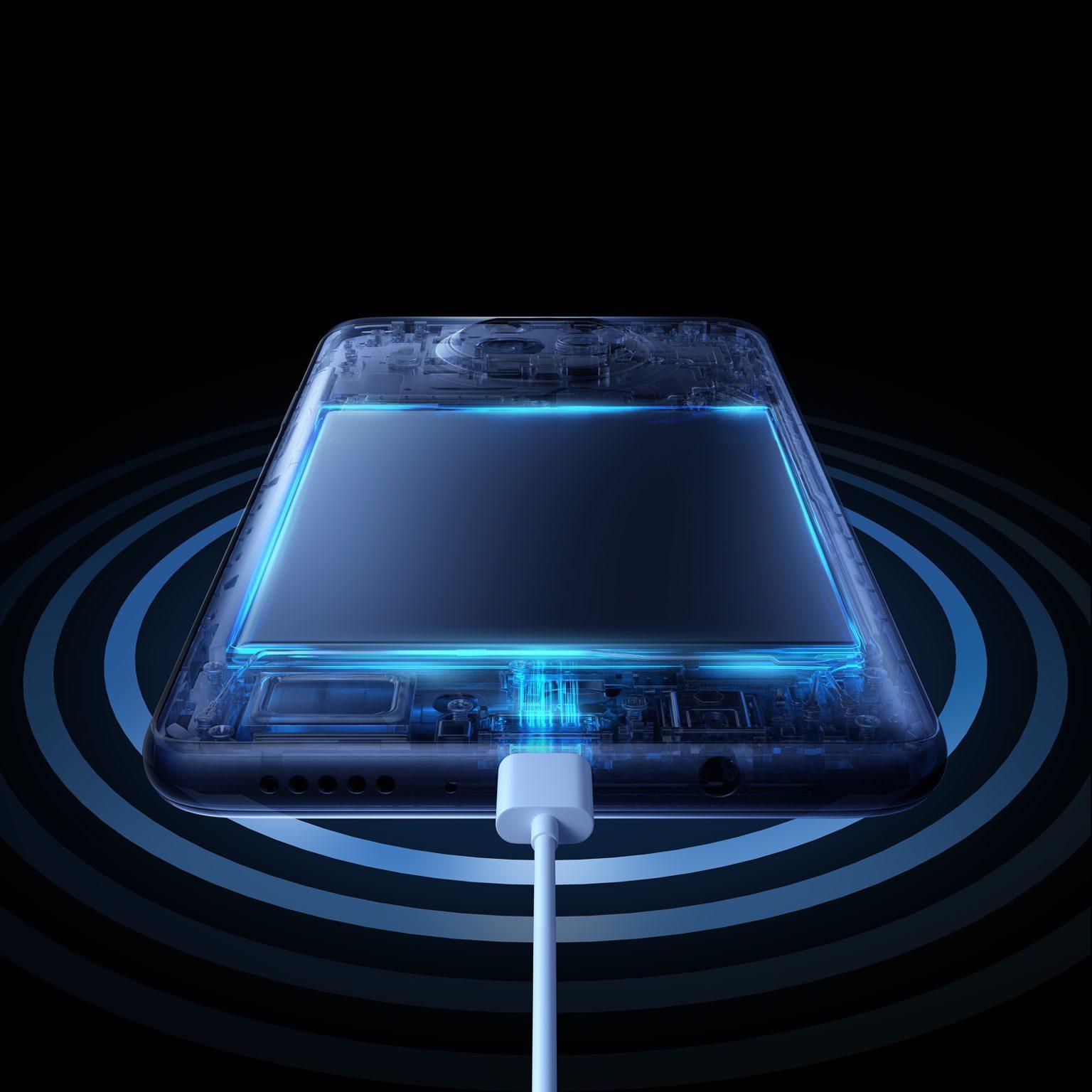 Imagen de la carga de la batería del Xiaomi Mi 10T Lite