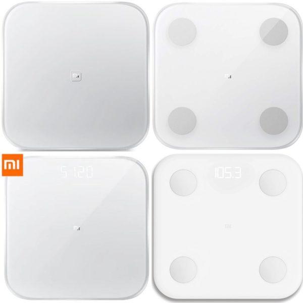 4 modelos de básculas de Xiaomi