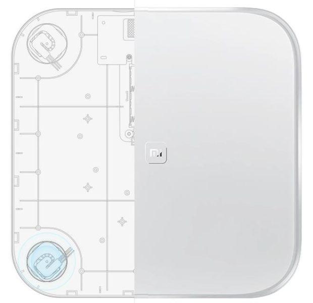 Diseño de la báscula Xiaomi Mi Scale 1/ Mi Scale Weighting 1