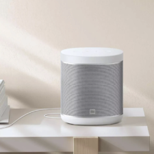 Diseño del Xiaomi Mi Smart Speaker en blanco