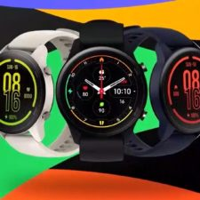 Reloj inteligente Xiaomi Mi Watch en diferentes colores