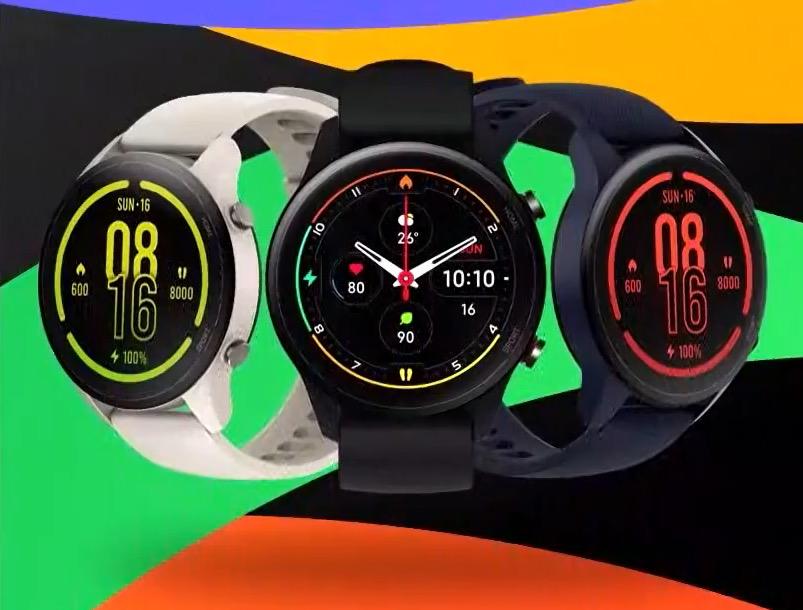 Reloj inteligente Xiaomi Mi Watch en diferentes colores
