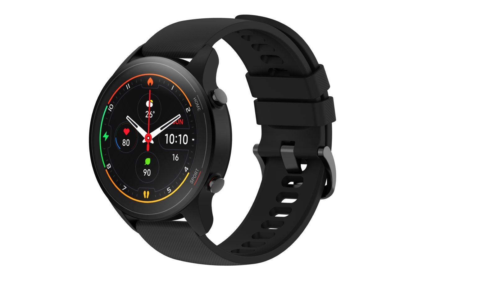 Reloj inteligente Xiaomi Mi Watch en negro