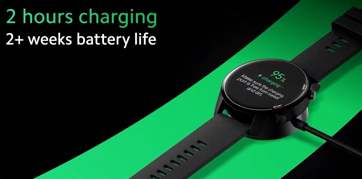 Cargando la batería del reloj inteligente Xiaomi Mi Watch