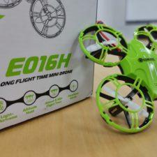 Caja y mini drone Eachine E016H