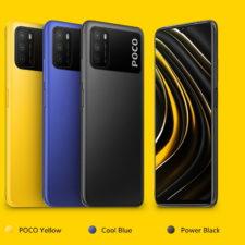 POCO M3 en distintos colores