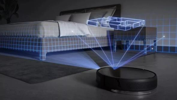 Sensores de navegación y reconocimiento de habitaciones del robot aspirador Xiaomi Mijia 1T
