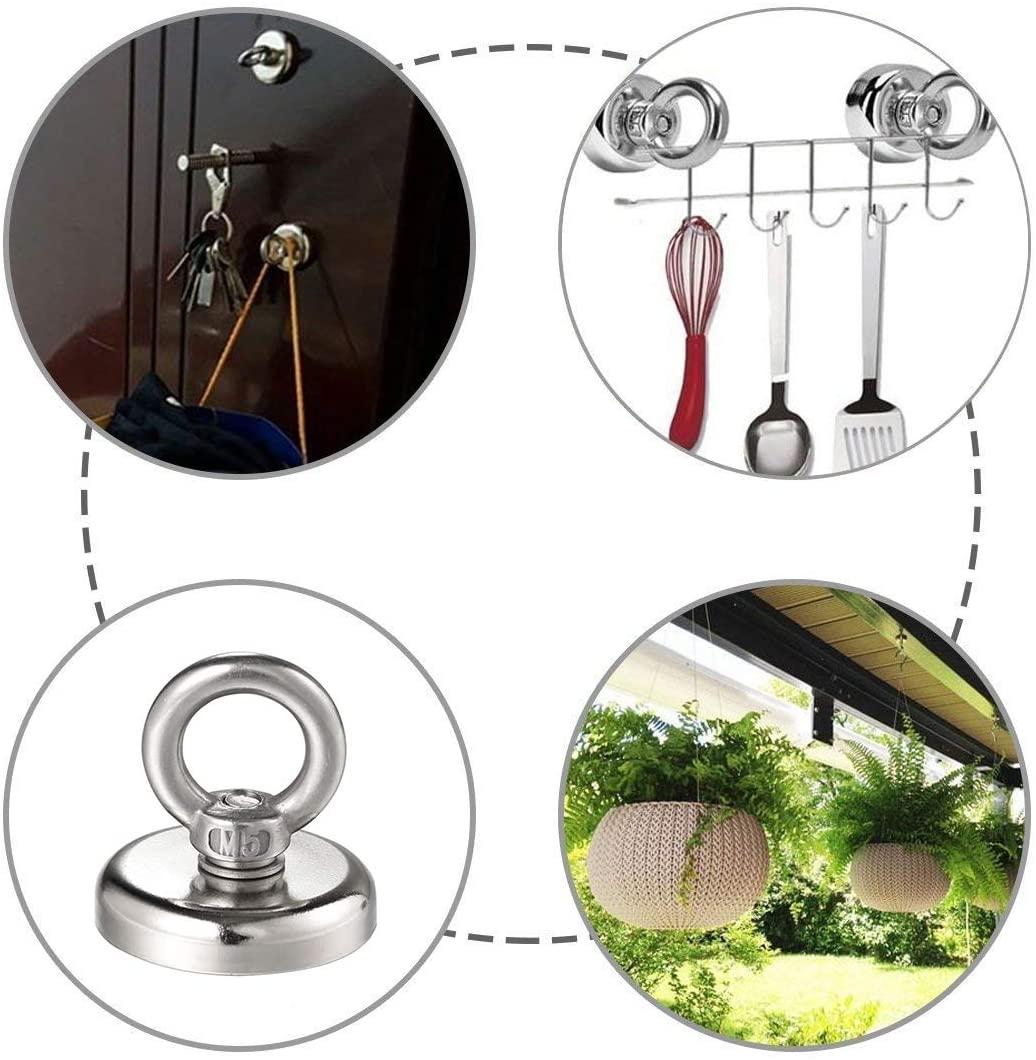 Diferentes usos de los ganchos magnéticos de neodimio