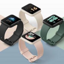 Diseño del Redmi Watch en distintos colores Apariencia