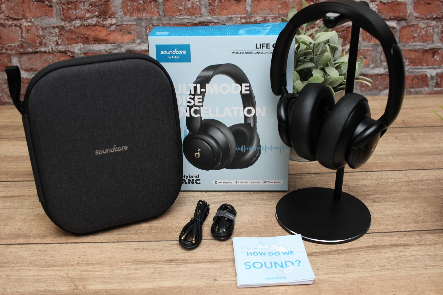 Accesorios de los auriculares bluetooth over-ear Soundcore Life Q30