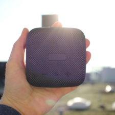 Diseño del altavoz bluetooth Tribit Soundbox Micro