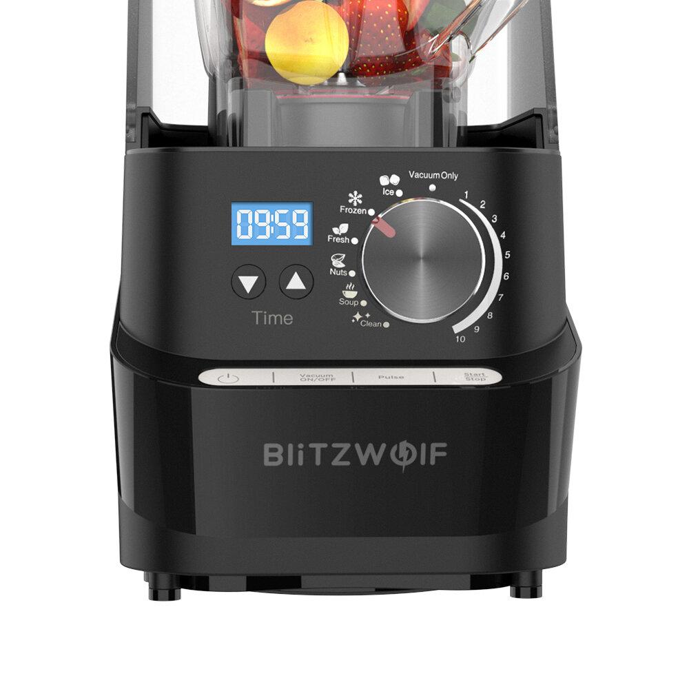 Botones para manejar la batidora de vaso BlitzWolf BW-CB2