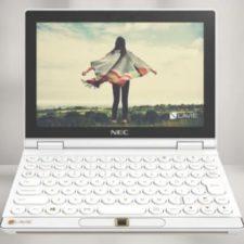 Lenovo NEC Lavie Mini con teclado integrado