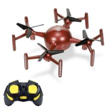 Mini drone X09A LED en rojo con mando a distancia