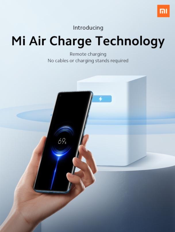 Poster promocional de Xiaomi Mi Air Charge