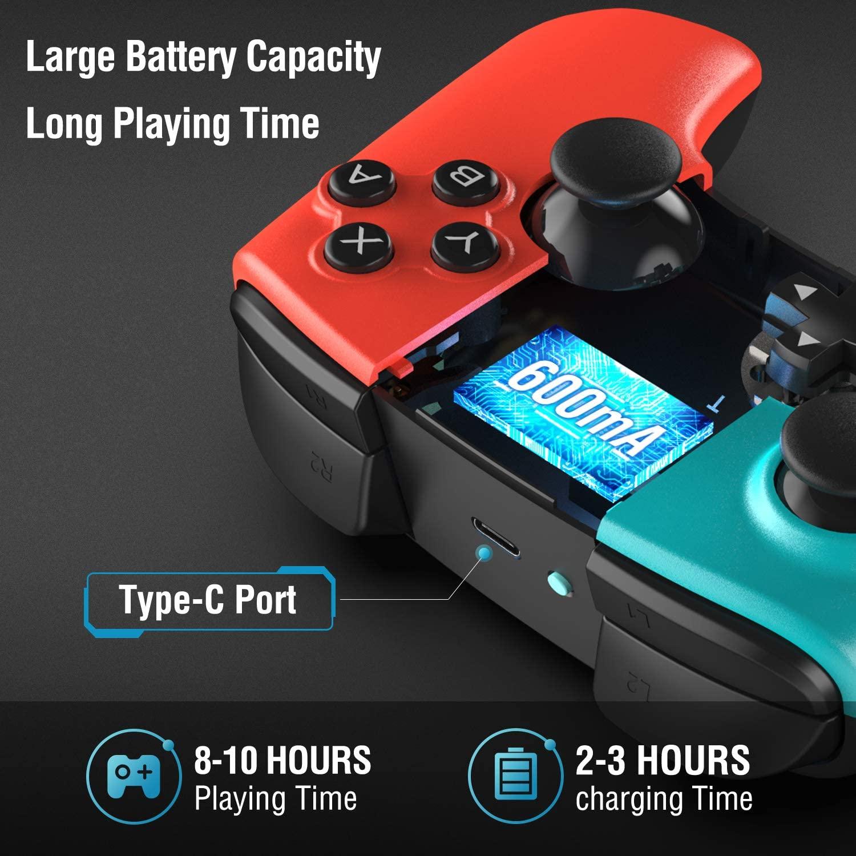 Batería del mando Nintendo Switch de Gamory