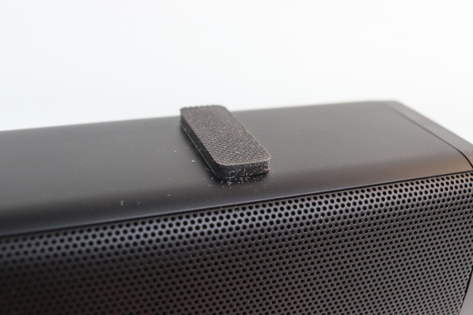 pies para colocar la Barra de sonido para la televisión Redmi TV Soundbar sobre un mueble
