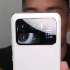 Xiaomi Mi 11 Ultra Smartphone Camara Dorso con Pantalla-734x413
