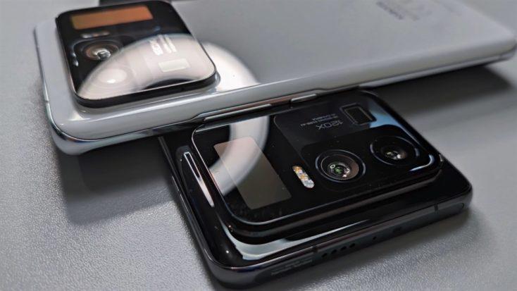 Xiaomi Mi 11 Ultra en blanco y negro