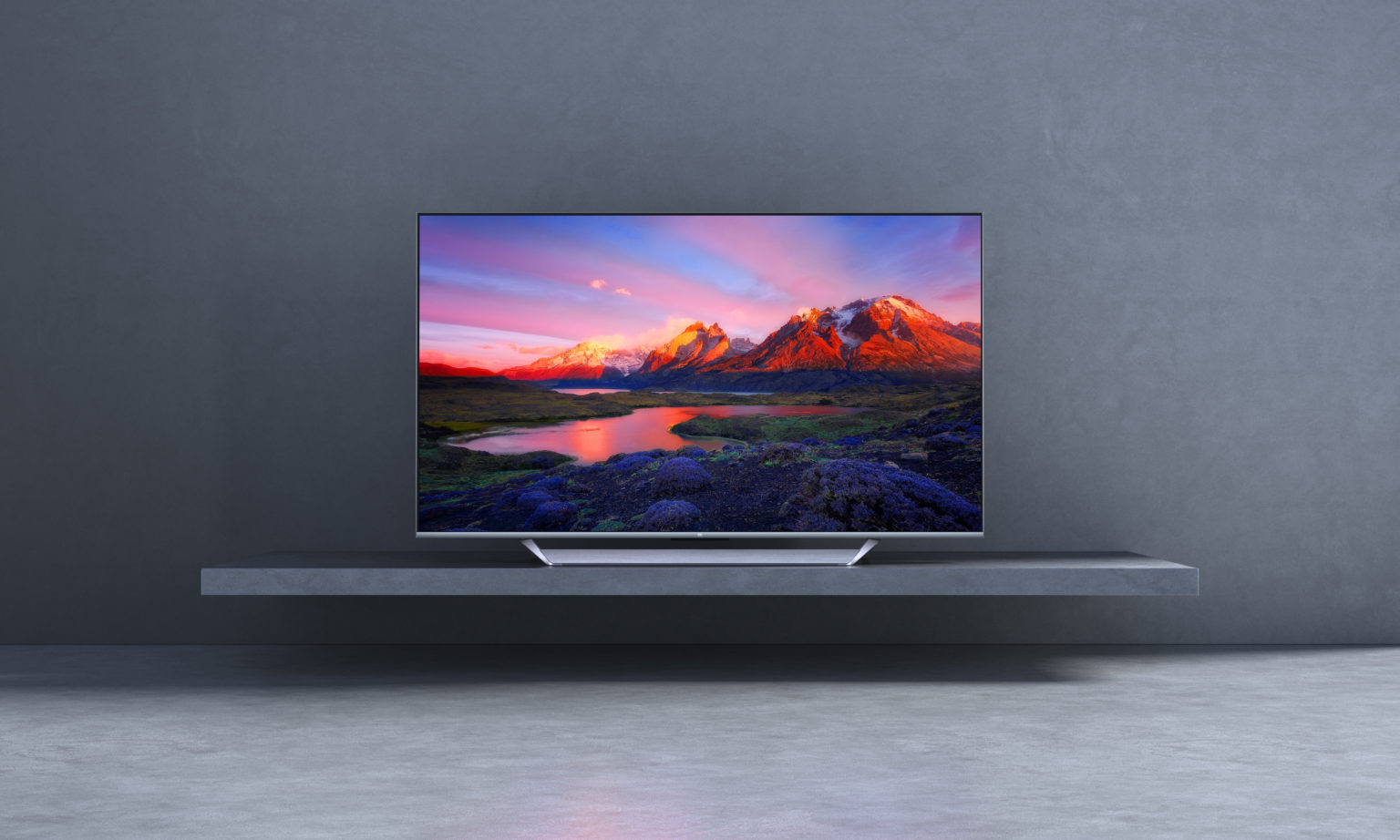 Diseño de la televisión Xiaomi Mi TV Q1 75